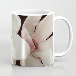 Magnolia On Black Coffee Mug