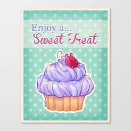 Cupcake Mouse Canvas Print