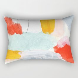 abstract painting XVI Rectangular Pillow