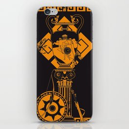 Preparati ad essere un dio! iPhone Skin