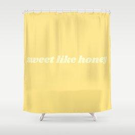 sweet like honey Shower Curtain