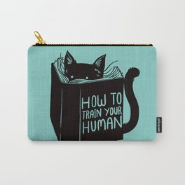 Cat Reader Advice Carry-All Pouch