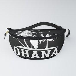 Ohana Family Is All Hawaii Vacation Design Motif Fanny Pack