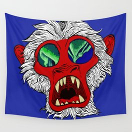 """""""Arctic Monkey"""" by Virginia McCarthy Wall Tapestry"""