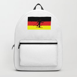 Germany Skiing Winter Sports Gift Backpack