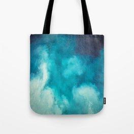 Caribbean Blues Tote Bag