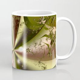 Folding Flowers Coffee Mug