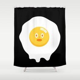 Kentucky Fried Egg Shower Curtain