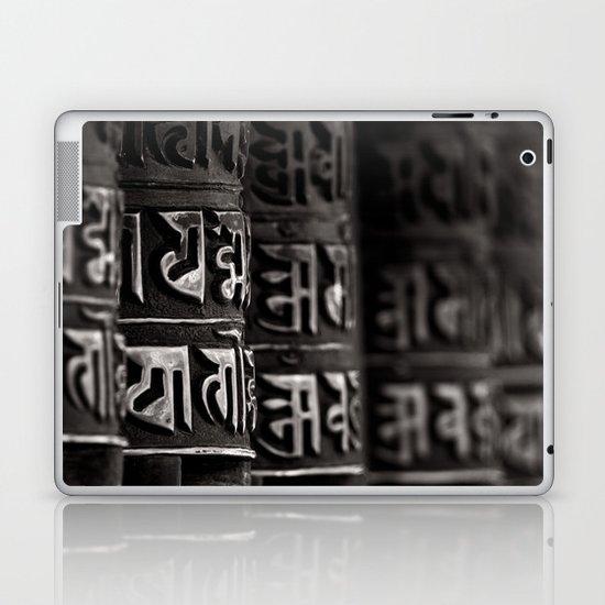 Monkey Temple Mani Wheels Laptop & iPad Skin