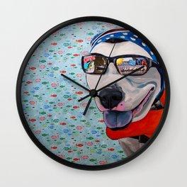 Asap Lake Time Wall Clock