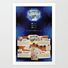 Mitten Mafia Selection Art Print