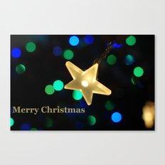 Christmas Star Canvas Print