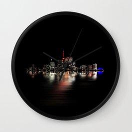 Toronto Flood No 3 My Island Wall Clock