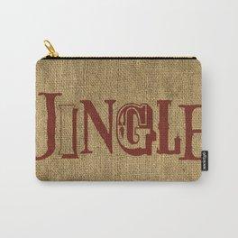 Jingle + Burlap Carry-All Pouch