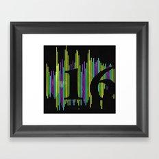 16 Framed Art Print