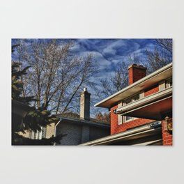 markland wood Canvas Print