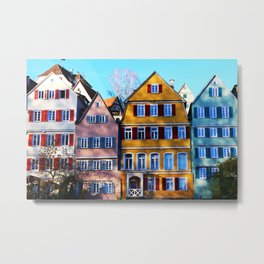 Amsterdam - World Big City Metal Print