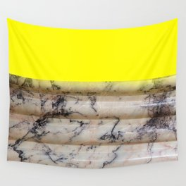 Greek Yellow Marble Wall Tapestry