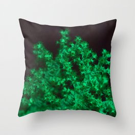 Glow coral glow! Throw Pillow