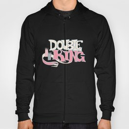 DOUBLE KING: Title Card Hoody