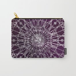 Rosette Window - Violet Carry-All Pouch