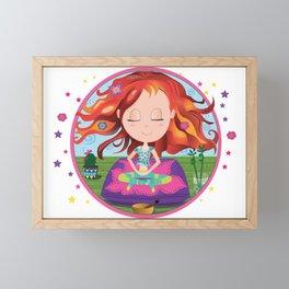 Meditation Om Zen Framed Mini Art Print