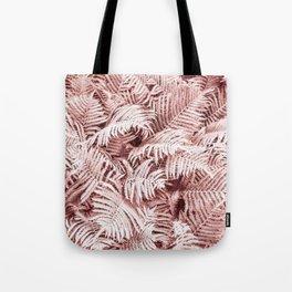Fern Bush Blush Pink | Bedroom Art Tote Bag