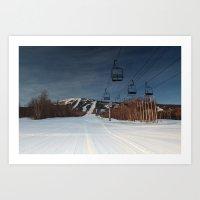 A Sugarloaf Sunrise  Art Print