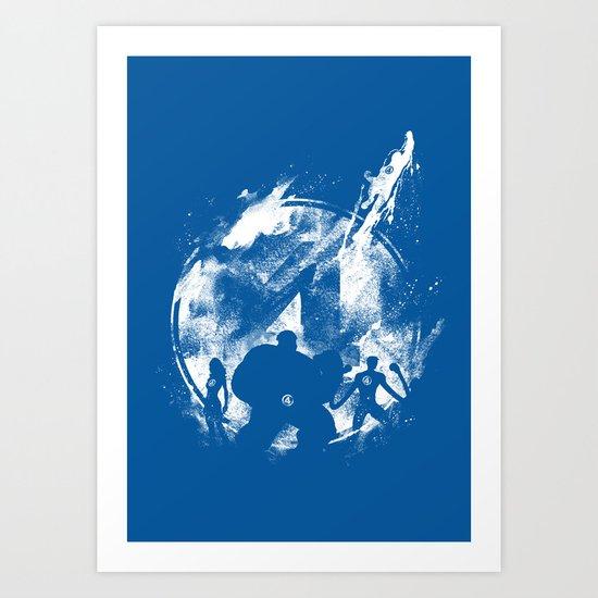 Fantastic 4ever Art Print