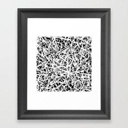 deep structure Framed Art Print