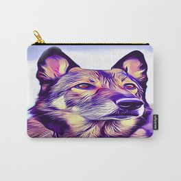 American Alsatian Shepalute Carry-All Pouch