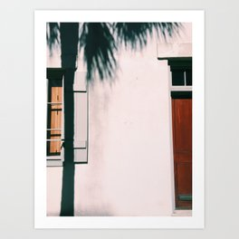 charleston shadows Art Print