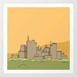 City #1 Art Print