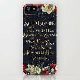 She'd laughed... Kaz Brekker iPhone Case