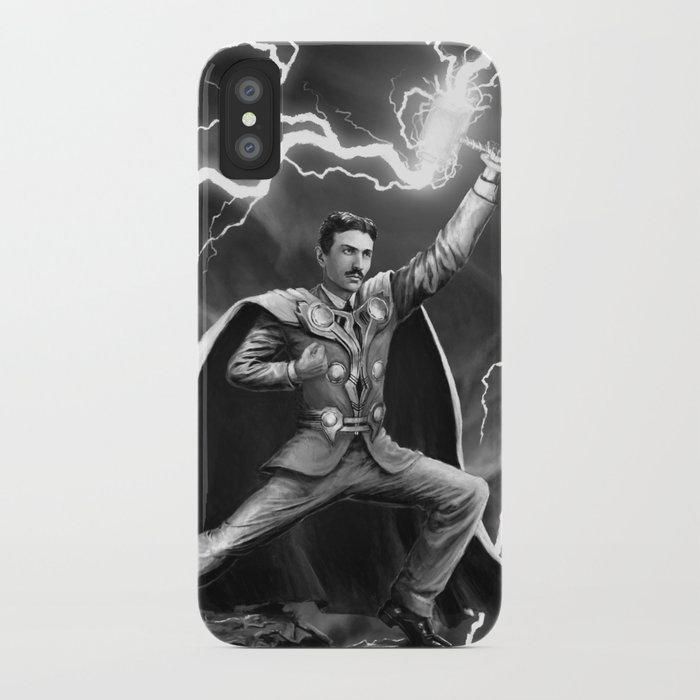 Tesla: God of Thunder iPhone Case