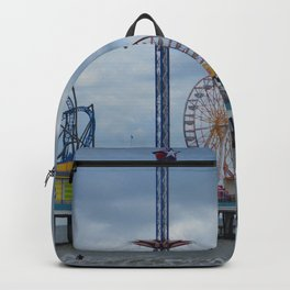 Pleasure Pier - Galveston Texas Backpack