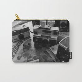 DAYS GONE BY BLACK AND WHITE 5 Carry-All Pouch