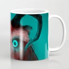 Red Neon Owl Coffee Mug