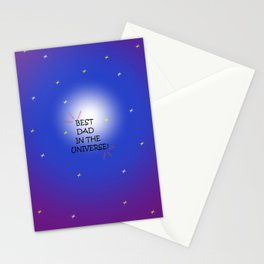 Best dad Stationery Cards