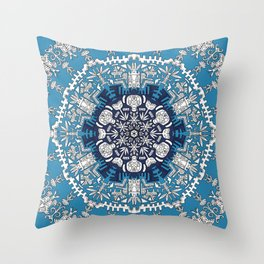 Trance Dream - Maya (Double Blue Edition) Throw Pillow