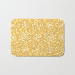 Boho Yellowish #society6 #pattern Bath Mat