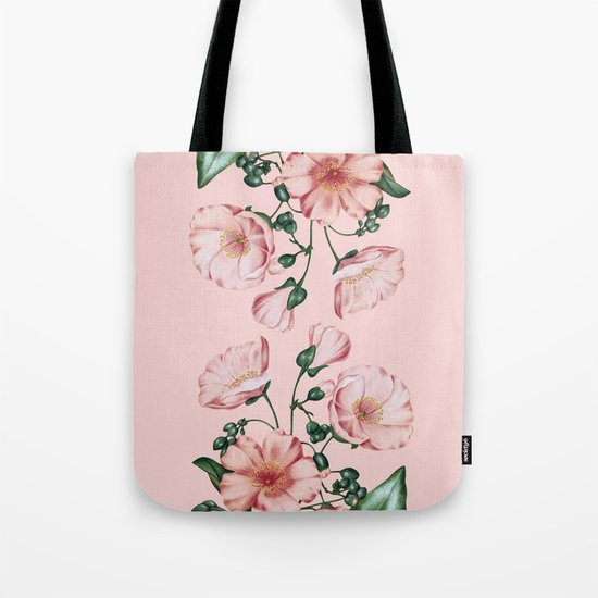 Calandrinia Tote Bag