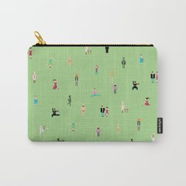 people in the green Carry-All Pouch