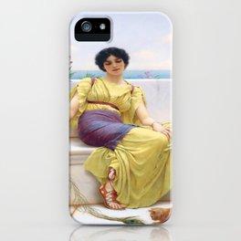 John William Godward's Idleness II iPhone Case