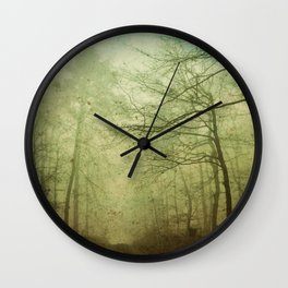 magical woods Wall Clock