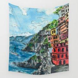 Viareggio, Cinque Terre Wall Tapestry