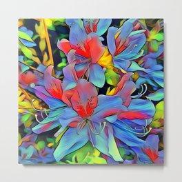 Floral ArtStudio - wonderful flowers Metal Print