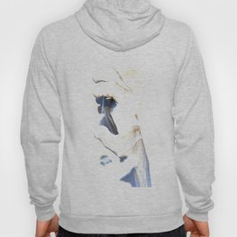 Hands  Abstract  in white Hoody