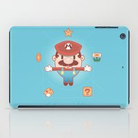 super mario iPad Cases featuring Super Mario by Richard Howard