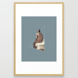 NOT The Valpinçon Bather Framed Art Print